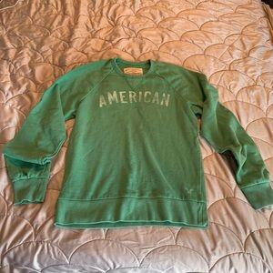 Medium Green AE sweatshirt American Eagle